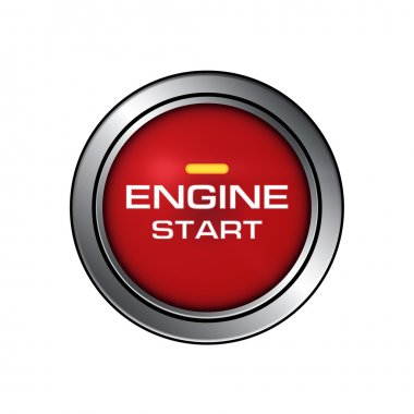 engine start button close-up image