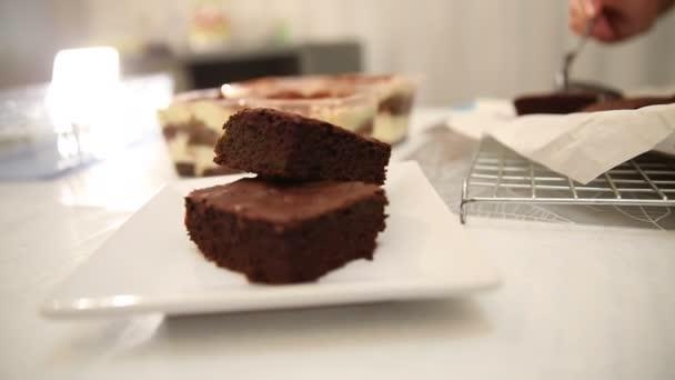 Pečivo pekařství vaření brownie a tiramisu