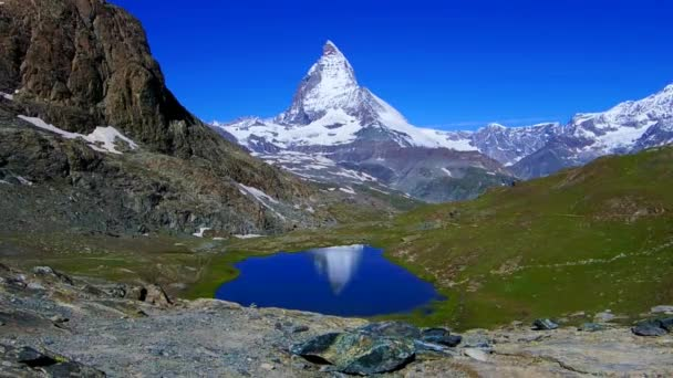 Reflection of the Matterhorn in Switzerland