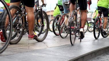 cycling race, biking abstract