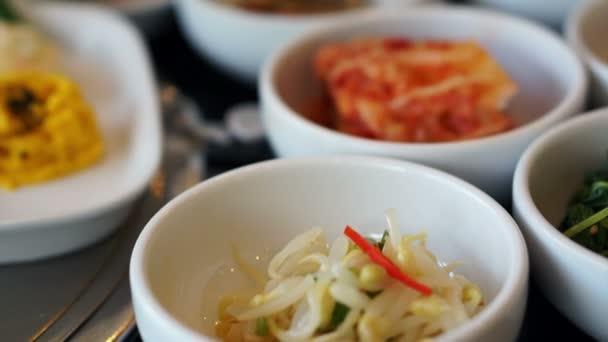 Tradiční korejské jídlo