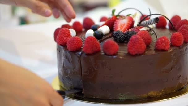 Pokovené čokoládové koláče