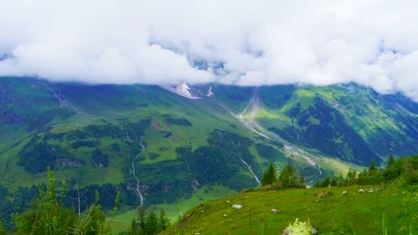 Határ Ausztria Svájc Alpok hegyi táj kilátás