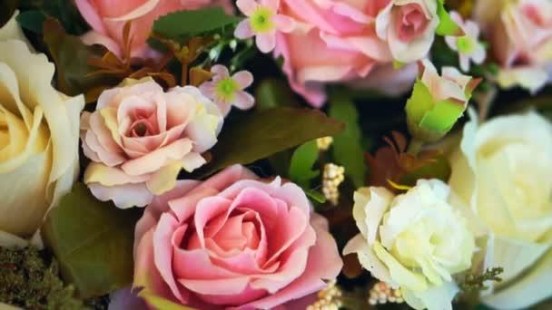 rózsaszín és Fehér Rózsa virág háttérképek-Valentin és esküvői videó