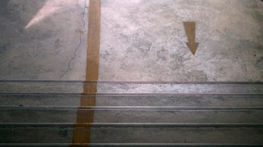 arrow and stair abstract one way direction decision