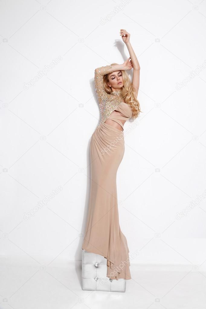 Consider, Long blonde hair tall nude women think