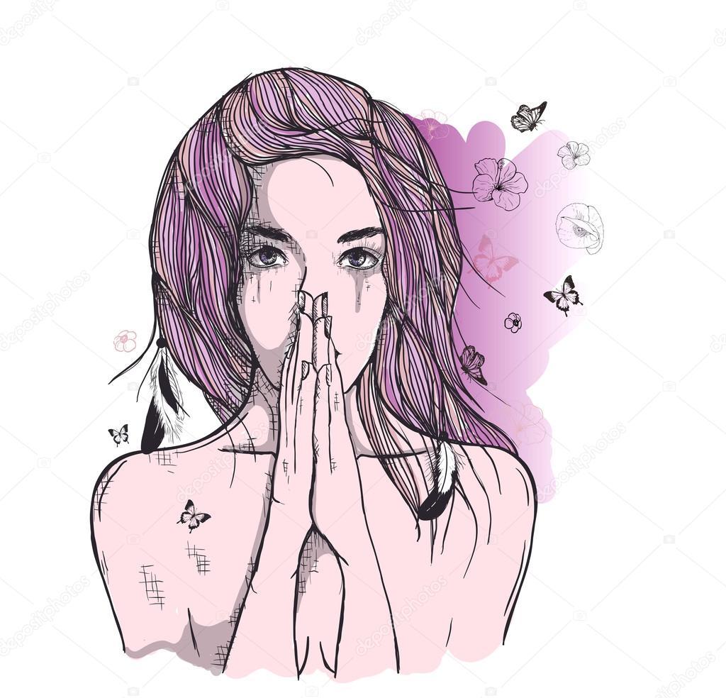 Imagens De Desenhos De Pessoas Tristes Mmod