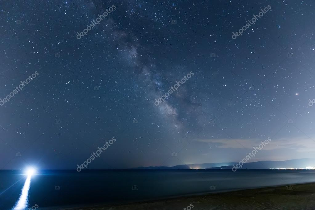 The starry sky and the Milky Way