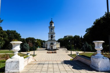 Cathedral Park on August 21, 2014 in Chisinau, Moldova. Nativity