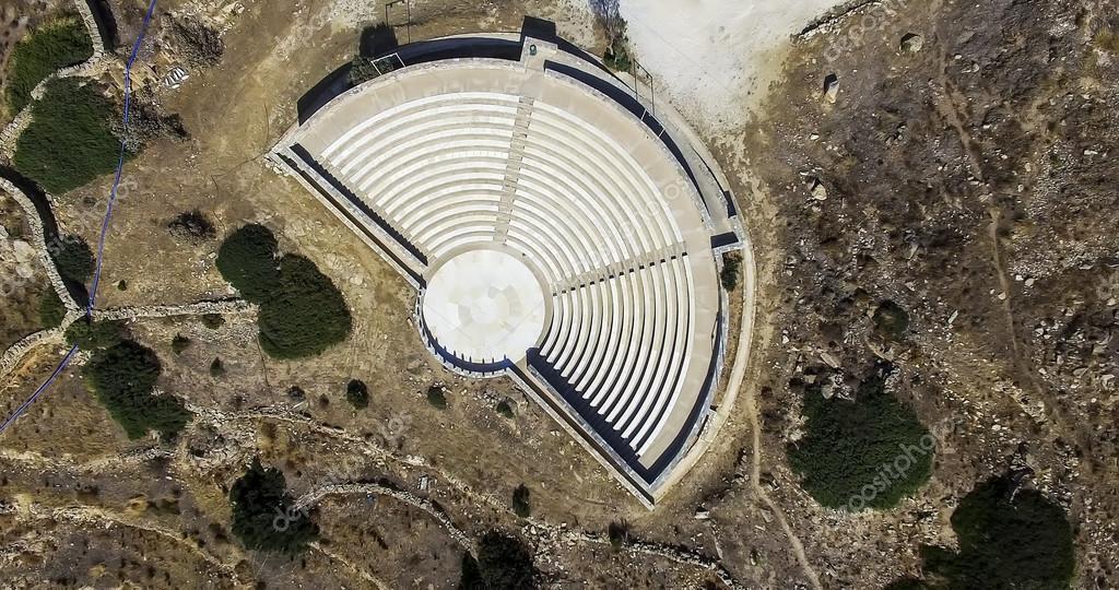 Древнегреческий амфитеатр план разме