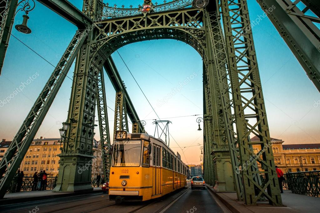 Chain Bridge and tram