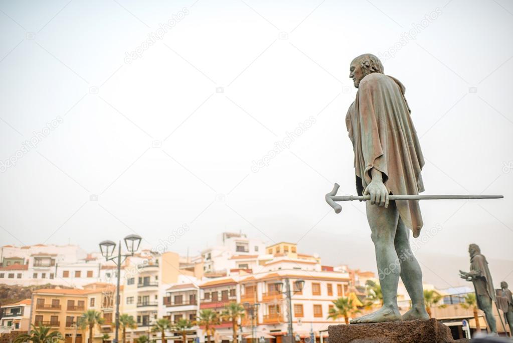 グアンチェ族の彫像 — ストック...