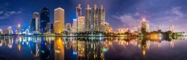 Panorama. Night lights