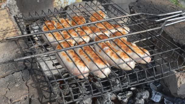 vaření na žhavé uhlí
