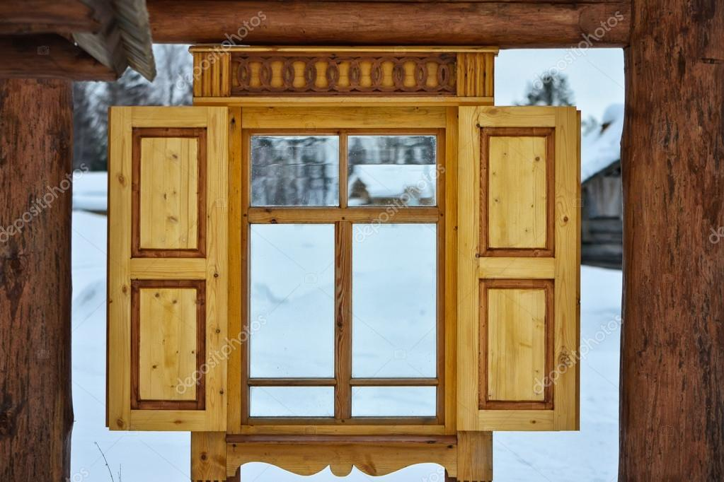 wooden frame windows stock photo 67132499 - Wood Frame Windows
