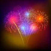 vektorové pozadí aplikace fireworks