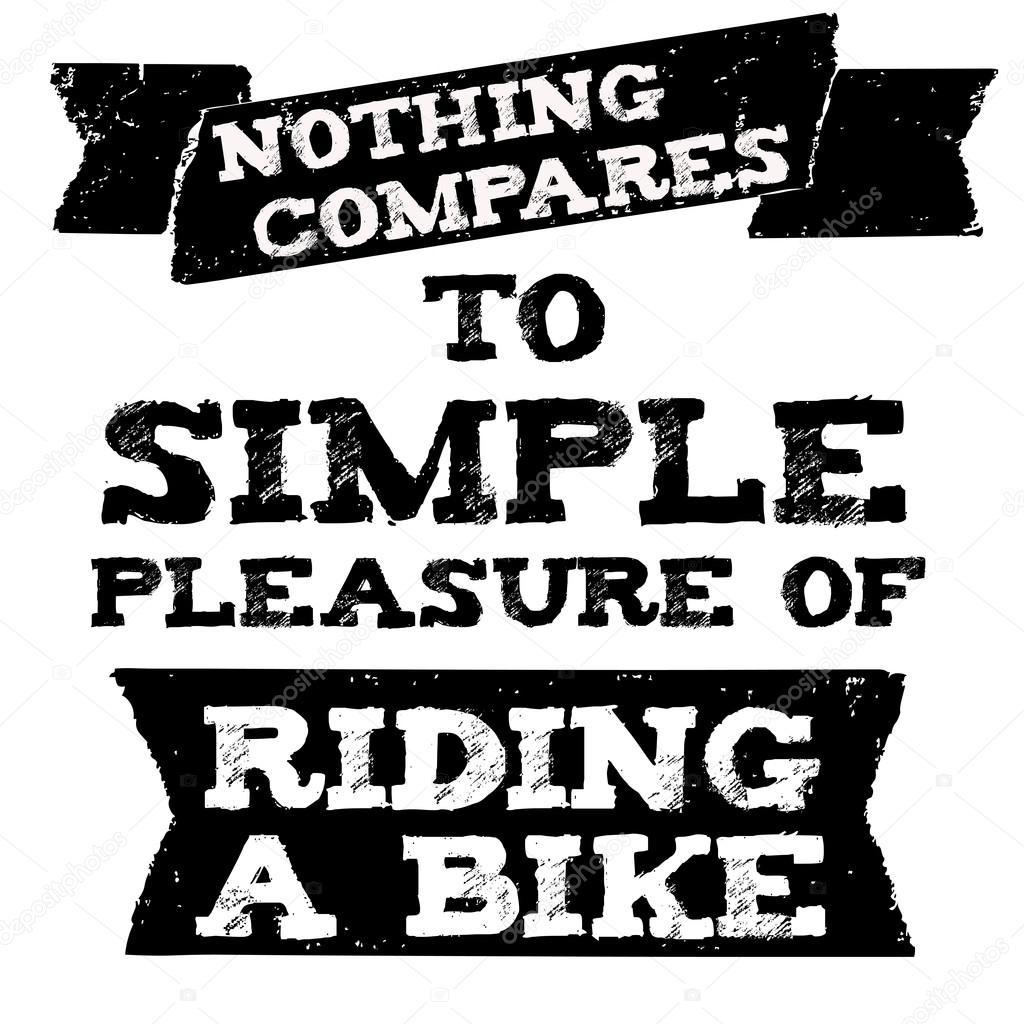 Citação De Motociclista Vector Com Frase De Motivação