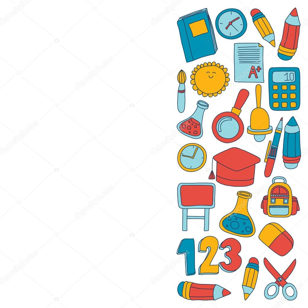 Vector doodle set of education symbols back to school stock vector doodle set of education symbols back to school stock vector buycottarizona Image collections