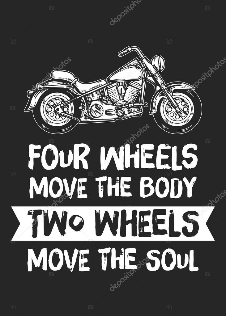 Cuatro ruedas mueven que el cuerpo dos las ruedas mueven el alma ...