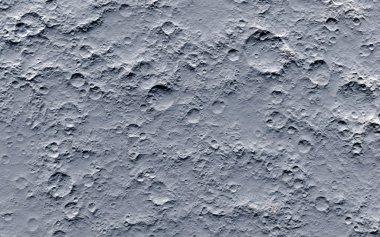 Fantastic moon surface stock vector