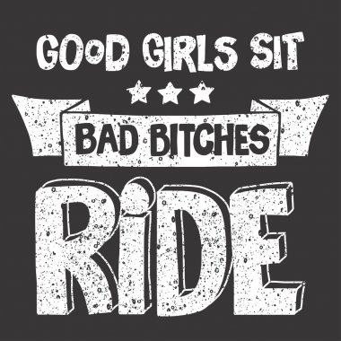 image with motorcycle Biker quote.