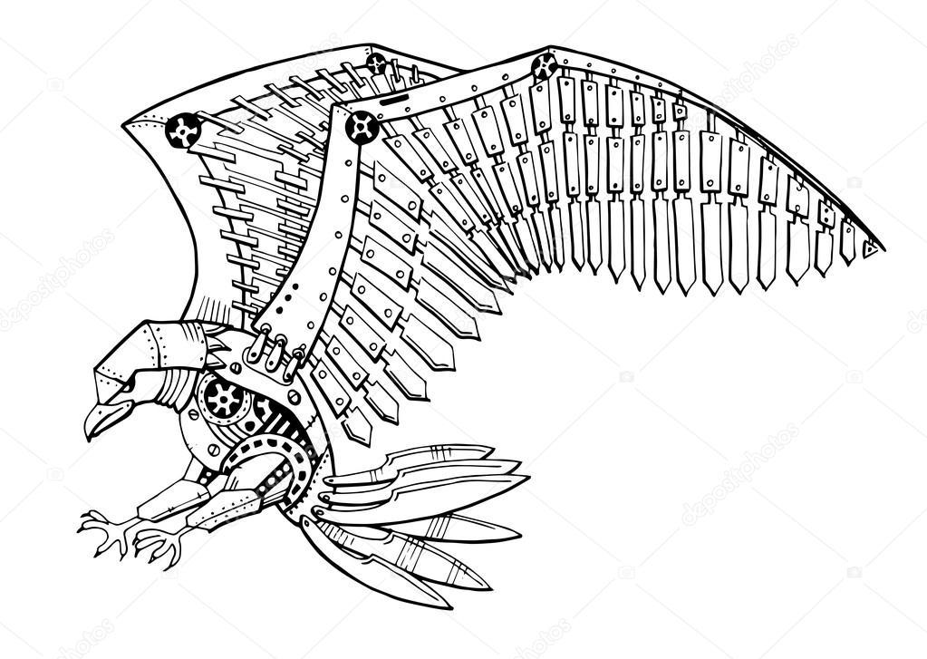 ᐈ Aguila atacando imágenes de stock, dibujos aguila a color ...