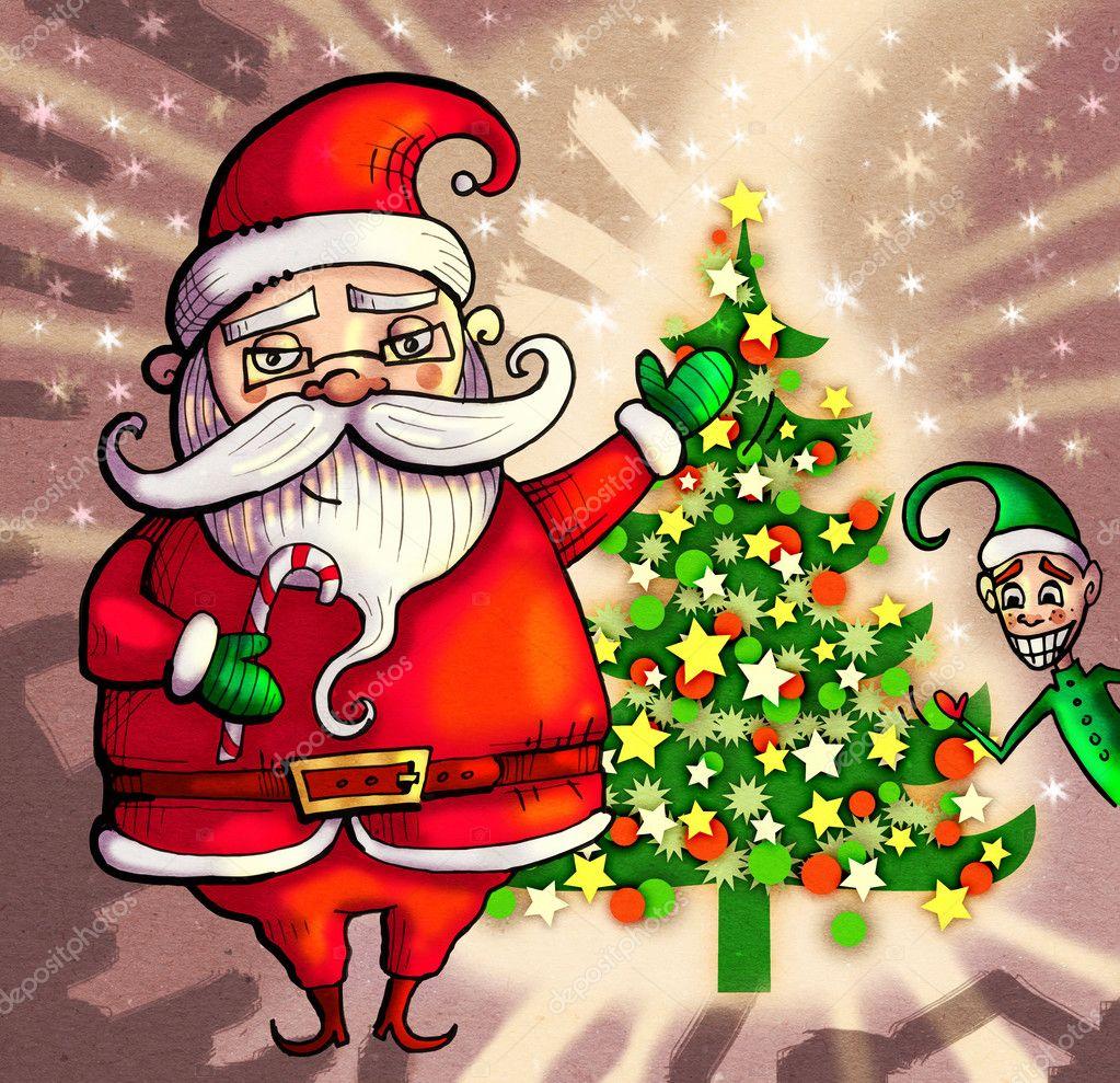 Immagini Di Natale Vintage.Cartolina Di Natale Vintage Foto Stock C Ssplajn 93882578