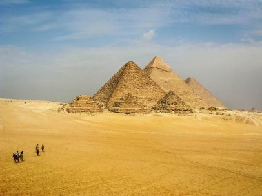 The Pyramids of Giza, Cairo, Egypt