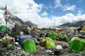 Fotografia Tende al campo Base di Everest, Khumbu Region, Nepal