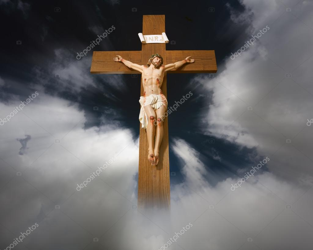 Imágenes Cristo En La Cruz Jesús Cristo En La Cruz Foto De