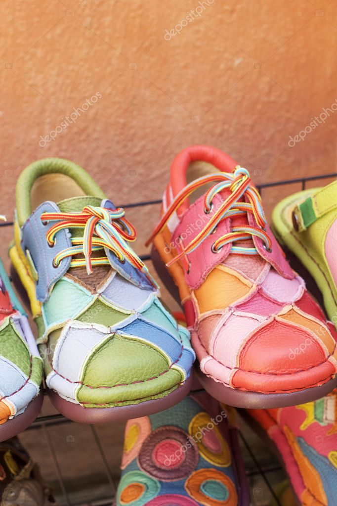 975dd4a8b790 Leather moroccan shoes for sale — Stock Photo © seagamess  61488385