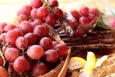 Bunch of grapes fruit  juicy fresh delicious.