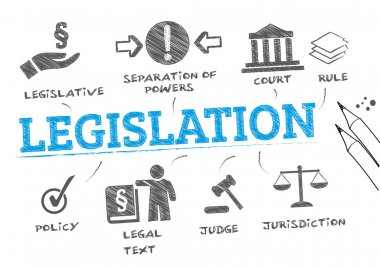 legislation concept illustration