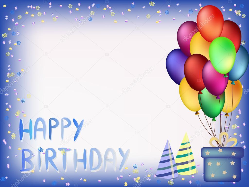 Открытка с днем рождения приглашение на английском