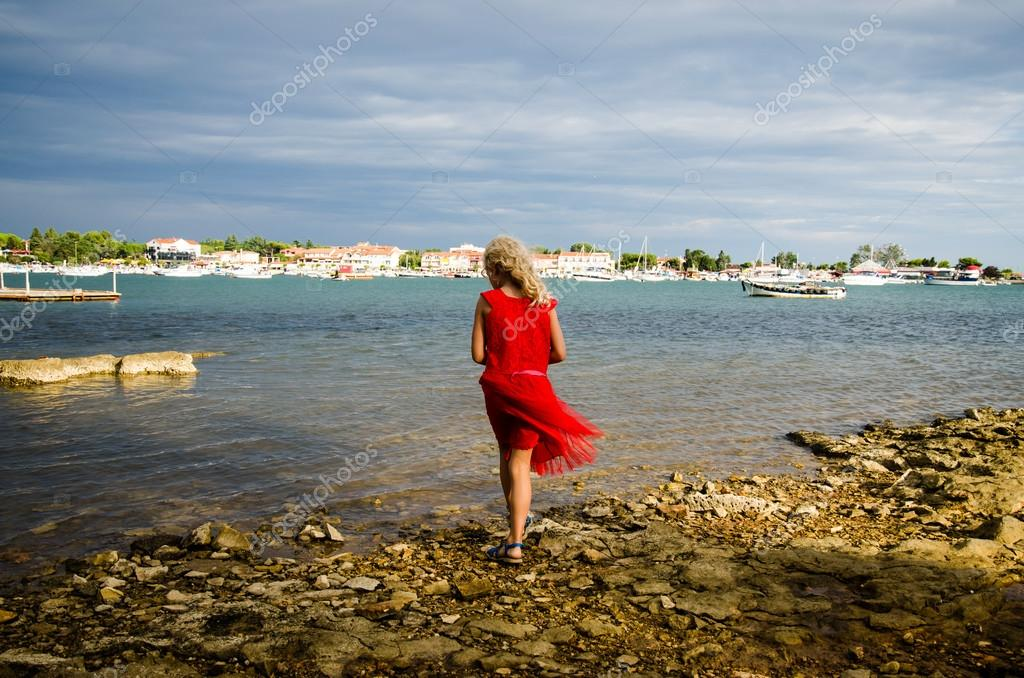 girl and water