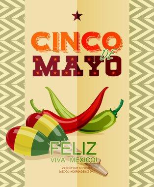 Text in Spanish. clip art vector