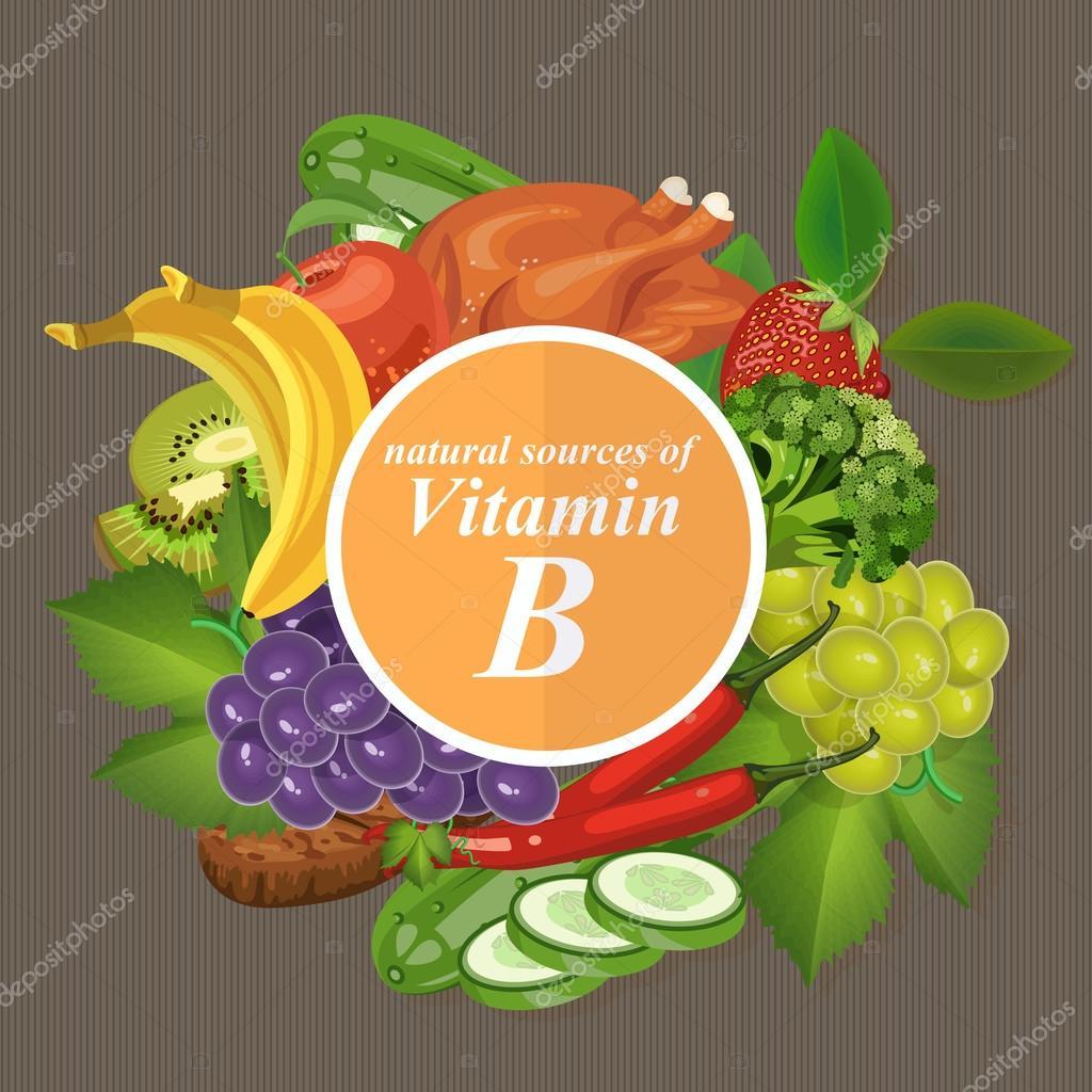 vitamine b fruit