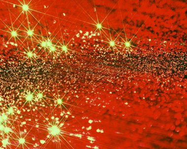 red christmas background with a glitter