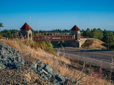 The Johnny Cash Trail is a paved bike path in Folsom CA