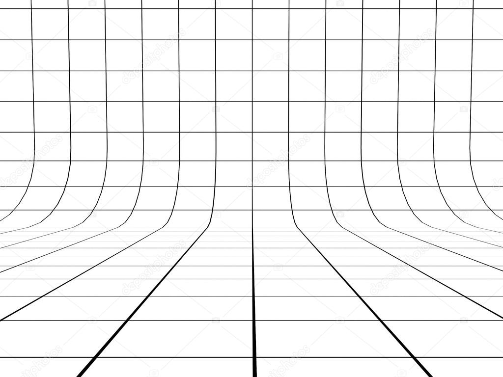 Point Perspective Room Grid