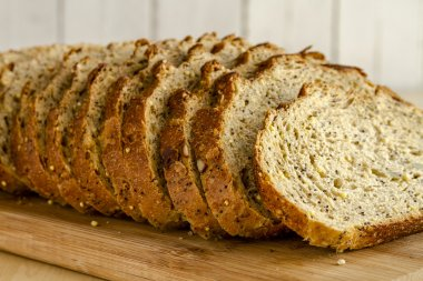 Fresh Baked Whole Grains and Seeded Bread