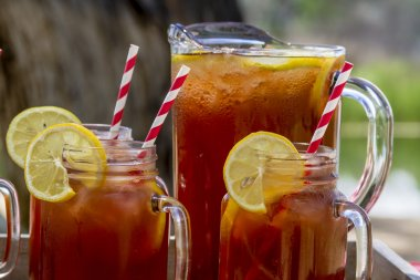 Iced Tea at Picnic in Grand Junction, Colorado