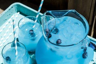 Refreshing Blueberry Lemonade Summer Drinks