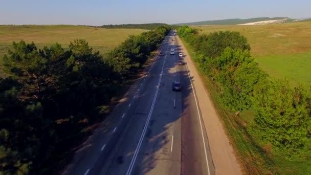 Country dálnice s pohyblivými dva způsob dopravy