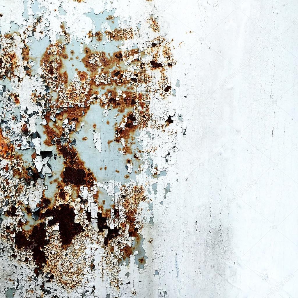 Abstrakte Korrodierte Bunte Tapete Grunge Hintergrund Rostige Künstlerische  Eisenwand Peeling Paint U2014 Foto Von Mongpro