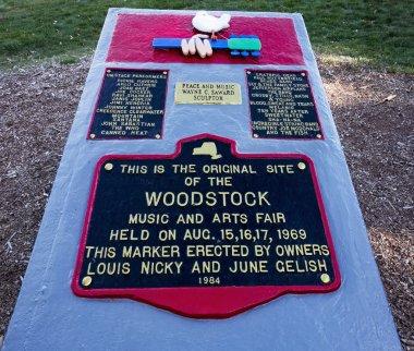 Woodstock Festival Site Marker