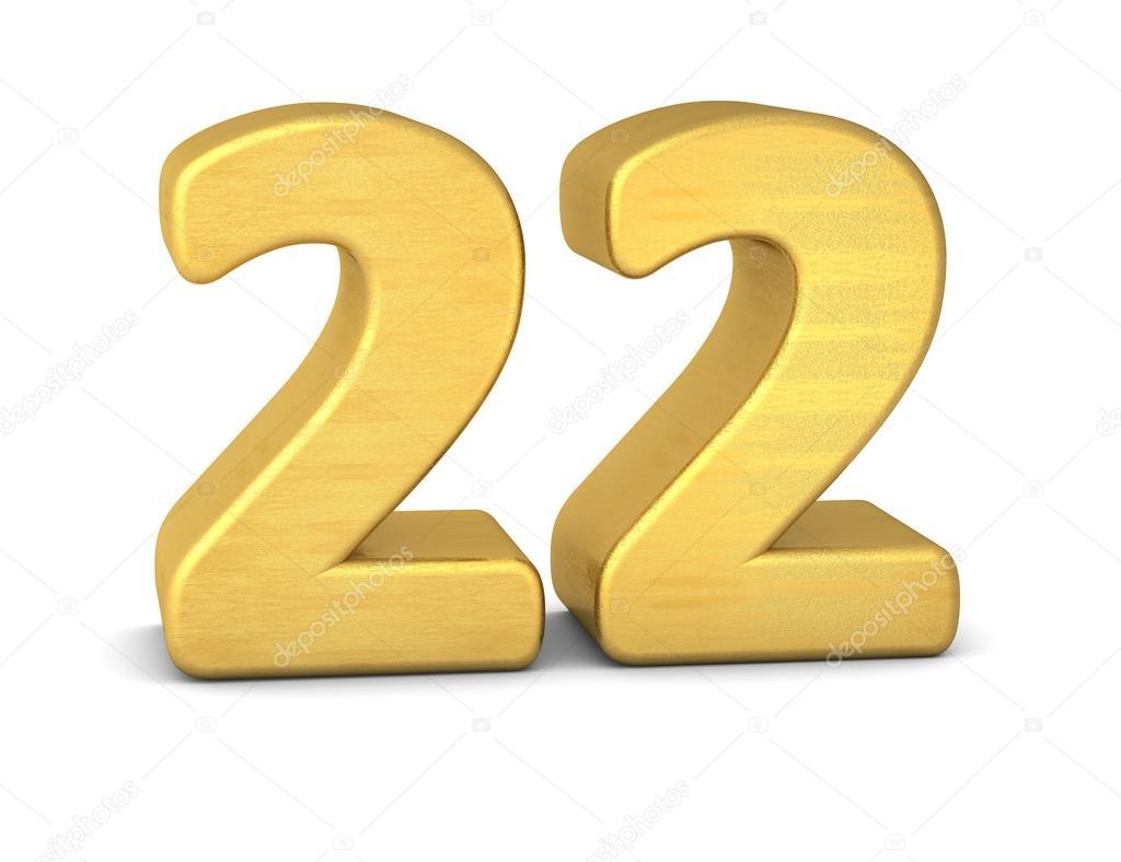 Zahl 22