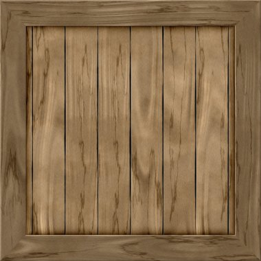 Wood crate generated hires texture