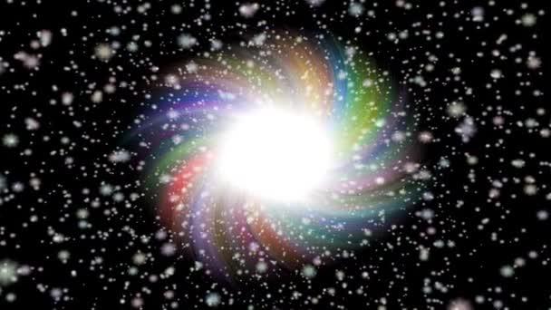 Výbuch hvězdy generovány bezešvými smyčky video