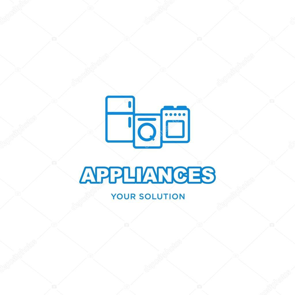 Vector Sign Logo Appliances Stock Vector C Natalimis 117761004